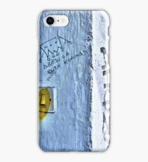 Opinions on the walls iPhone Case/Skin