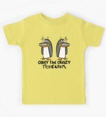 Obey The Crazy Penguins  Kids Clothes