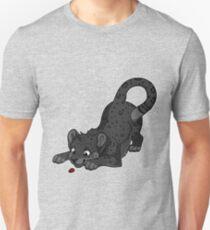 Little Black Leopard Unisex T-Shirt