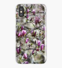Deciduous Magnolia iPhone Case/Skin