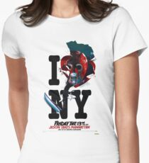 Jason Takes Manhattan Women's Fitted T-Shirt