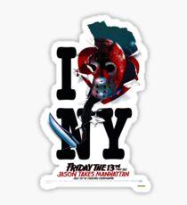 Jason Takes Manhattan Sticker