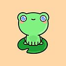 Cute frog by peppermintpopuk