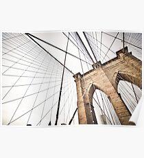 Brooklyn Bridge, NY Poster