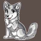 Little Wolf - White by etuix