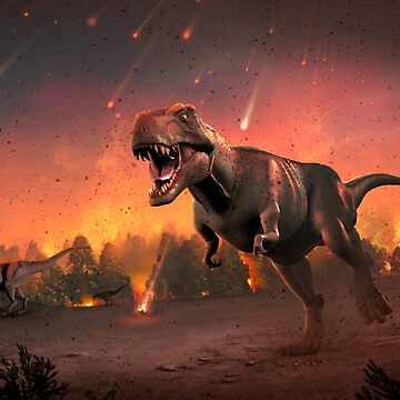 Tyrannosaurus Rex - Fire in the Sky by magarlick