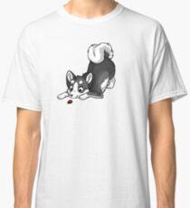 Little Dark Grey Husky Classic T-Shirt