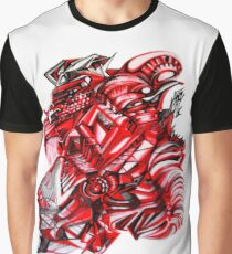 BLACK AND RED Graphic T-Shirt