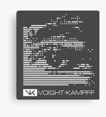 VOIGHT-KAMPFF TEST - BLADE RUNNER Canvas Print