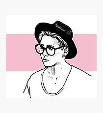 Jonghyun - SHINee - glasses Photographic Print