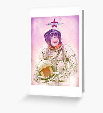 Macaconauta Greeting Card