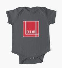 I Love Irish Movies - Fillum 4 Short Sleeve Baby One-Piece