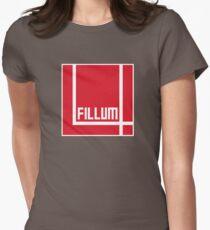 I Love Irish Movies - Fillum 4 Women's Fitted T-Shirt