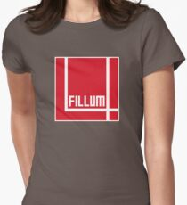 I Love Irish Movies - Fillum 4 Fitted T-Shirt