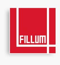I Love Irish Movies - Fillum 4 Canvas Print