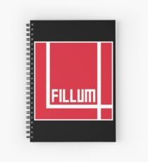 I Love Irish Movies - Fillum 4 Spiral Notebook