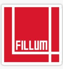I Love Irish Movies - Fillum 4 Sticker