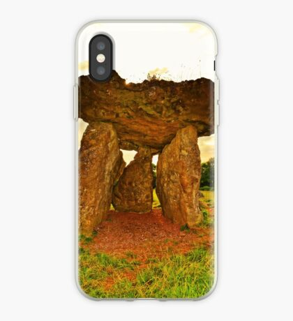 Ancient Burial Chamber in Wales (UK) iPhone Case