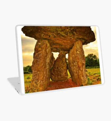 Ancient Burial Chamber in Wales (UK) Laptop Skin