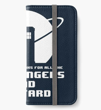 Fish Fingers and Custard iPhone Wallet