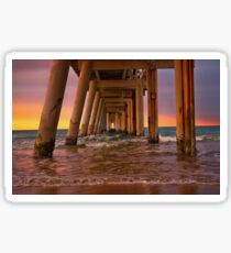 Rainbow pier Sticker