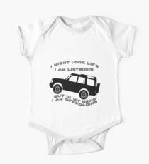 Listening but Off-Road Kids Clothes