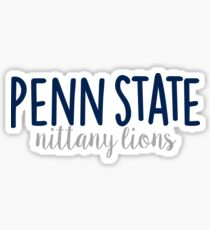 Penn State University Sticker