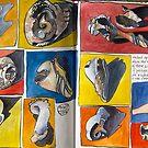 broken shells by Evelyn Bach