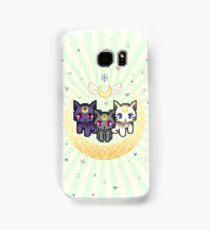 Sailor Cats - Green Samsung Galaxy Case/Skin