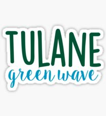 Tulane University Sticker
