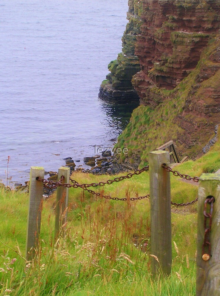 The Steps to the Cove, Mull Head by lezvee