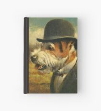 Vintage Jack Russell Hardcover Journal