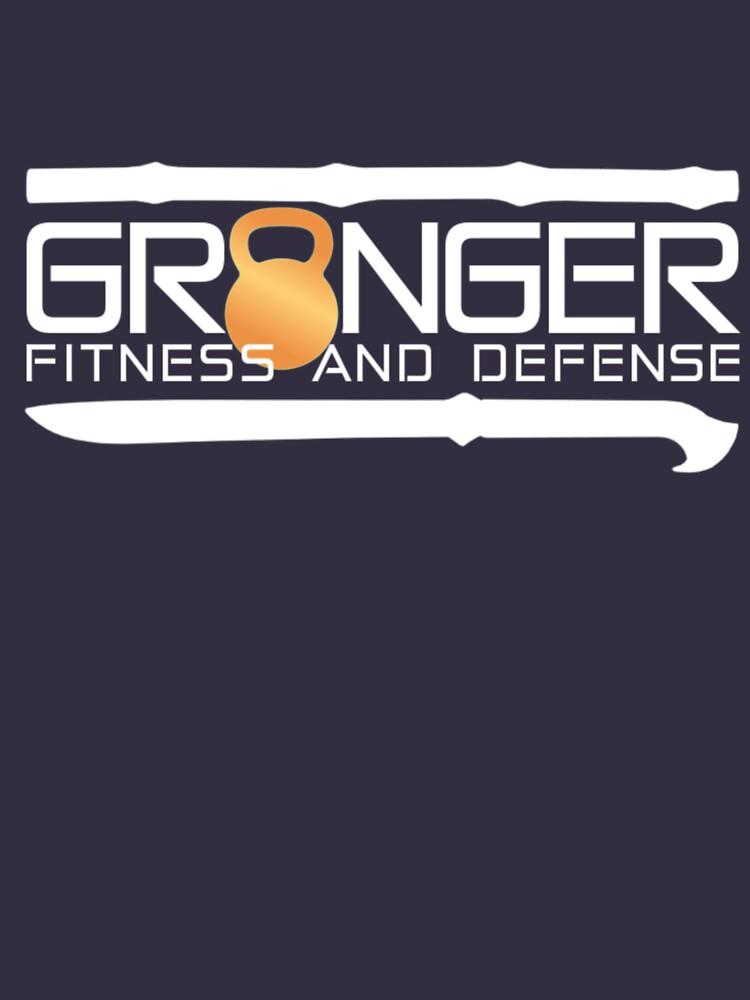 Classic Full Logo for Granger Fitness and Defense  by johngranger