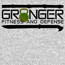 Green Full Logo for Granger Fitness and Defense  by John Granger