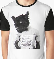 Panther Man Graphic T-Shirt