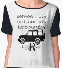 Calvin Klein & Land Rover (Parody) Chiffon Top