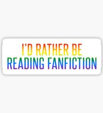 Pride Fiction Sticker