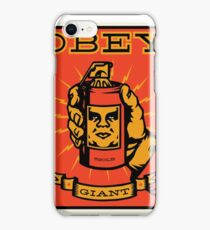Obey Giant iPhone Case/Skin