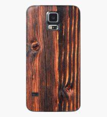 Holz Textur Hülle & Klebefolie für Samsung Galaxy