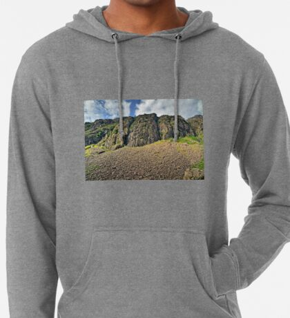Snowdonia Mountains, National Park, (North) Wales Lightweight Hoodie