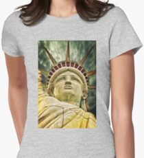 Statue of Liberty Women's Fitted T-Shirt