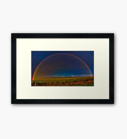 """""""A Promise At Sundown"""" Framed Print"""