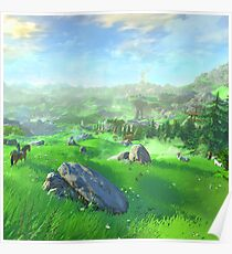 Breath Of The Wild - Field Poster