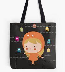 Character packman girl Tote Bag