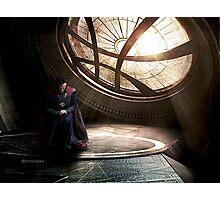 Doctor Strange edit by lichtblickpink Photographic Print