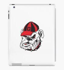 UGA Bulldog  iPad Case/Skin