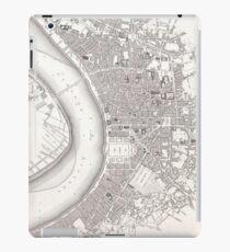 Vintage Map of Bordeaux France (1832) iPad Case/Skin