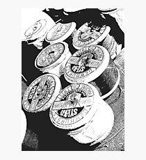 Vintage Cotton Reels Photographic Print