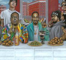 Last Supper of Hip Hop Sticker