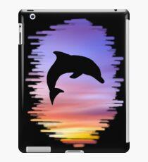 Sunset Dolphin iPad Case/Skin